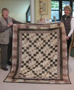 Viv's first quilt